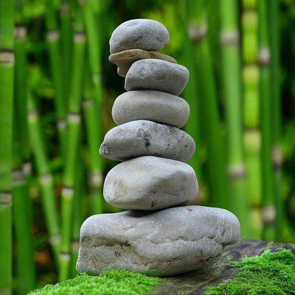 zen, garden, meditation